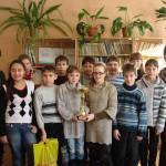 Награждение учащихся Октябрьской средней школы
