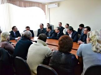 Рабочий визит делегации совета депутатов Рыбинского района