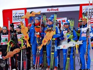 Этап Кубка мира по лыжным гонкам в Демино