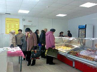 Открытие нового фирменного магазина ОАО«Ярославский бройлер» Тверская область, п. Фирово