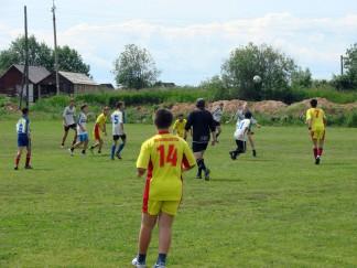Финальный матч областного турнира по футболу