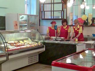 Открытие нового фирменного магазина ОАО «Ярославский бройлер» Тверская область, г. Кимры