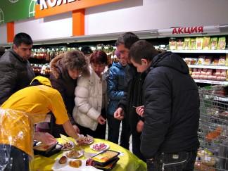 Дегустации продукции ОАО «Ярославский бройлер» в крупнейших торговых сетях г. Рязани