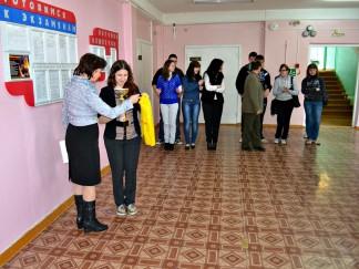 стипендии ученикам Октябрьской школы